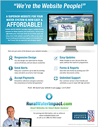 RuralWaterImpact.com Flyer